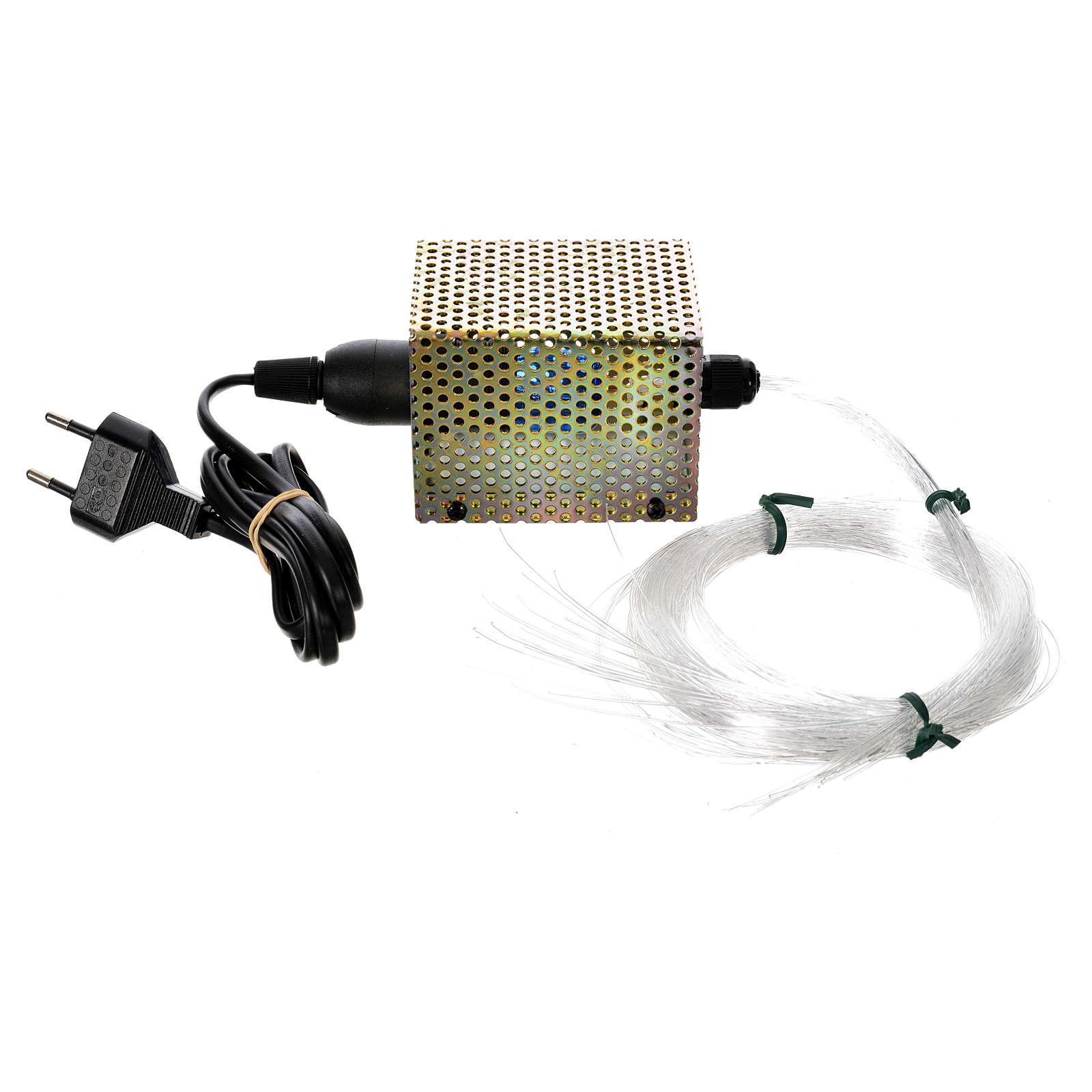 Optical fiber stars, 50 wires 25W 220V 4