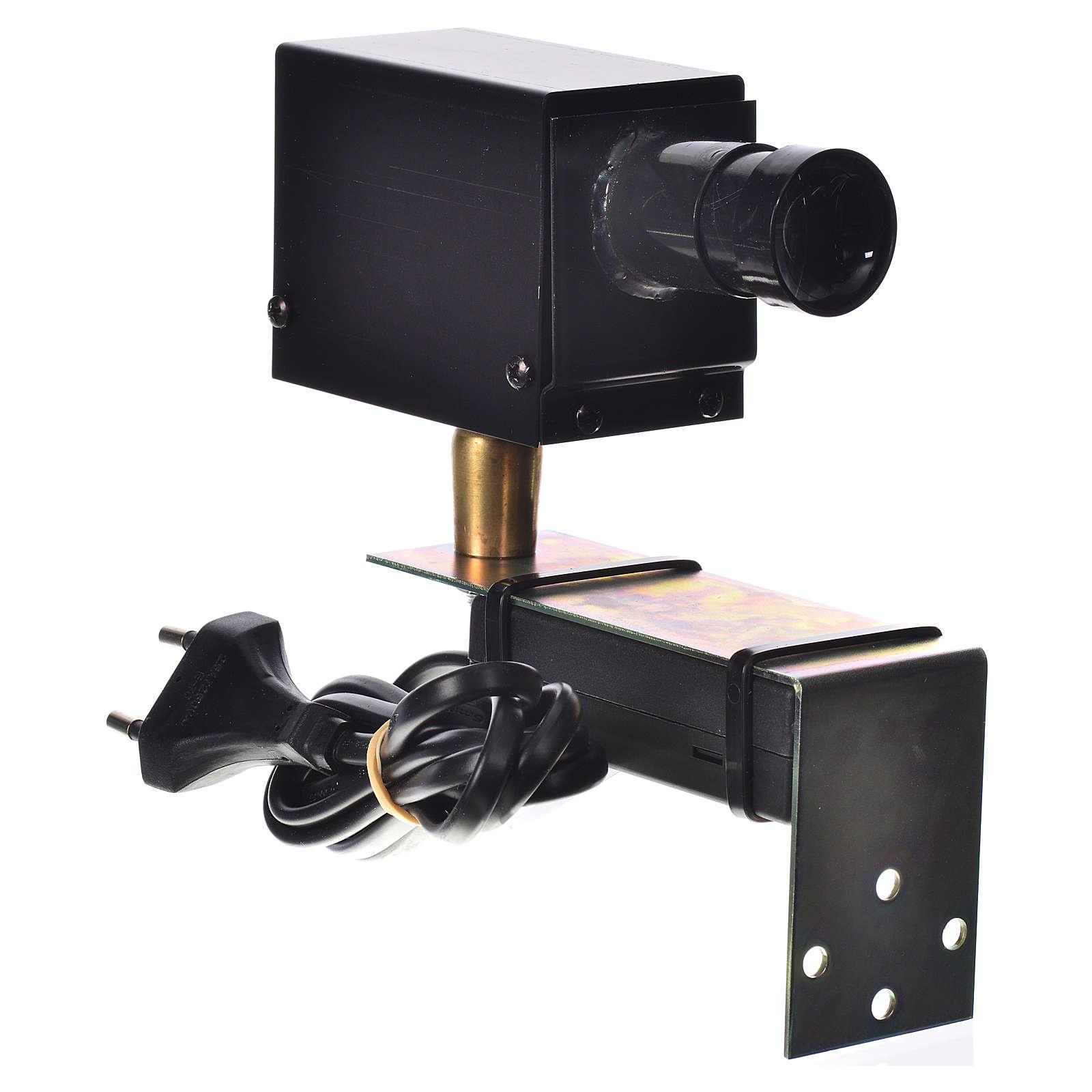 Proyector diám. 25 mm. belén 4