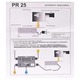 Proyector diám. 25 mm. belén s5