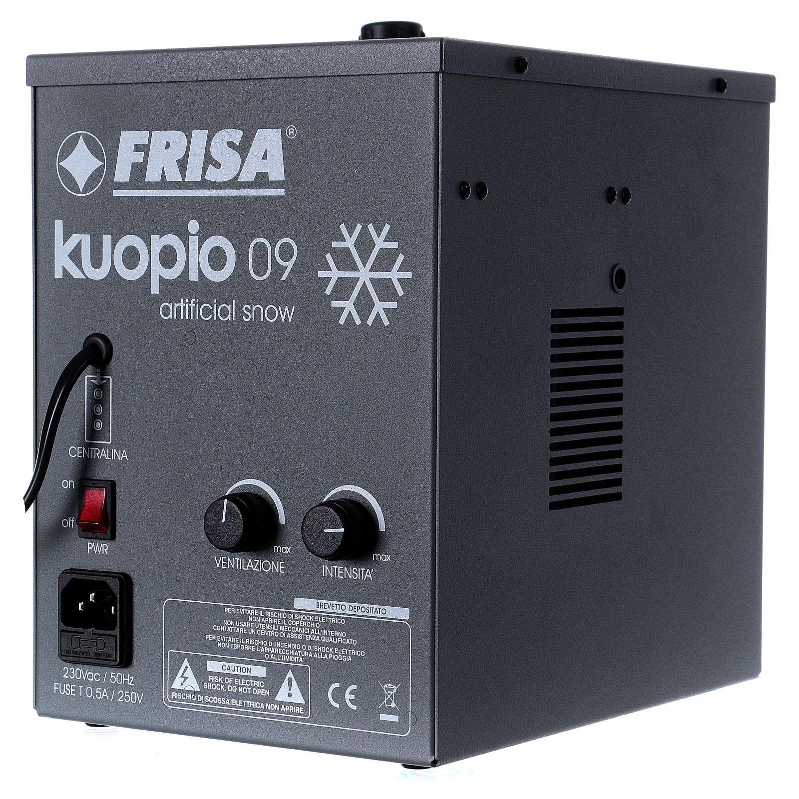Kuopio 09: generador de nieve 4