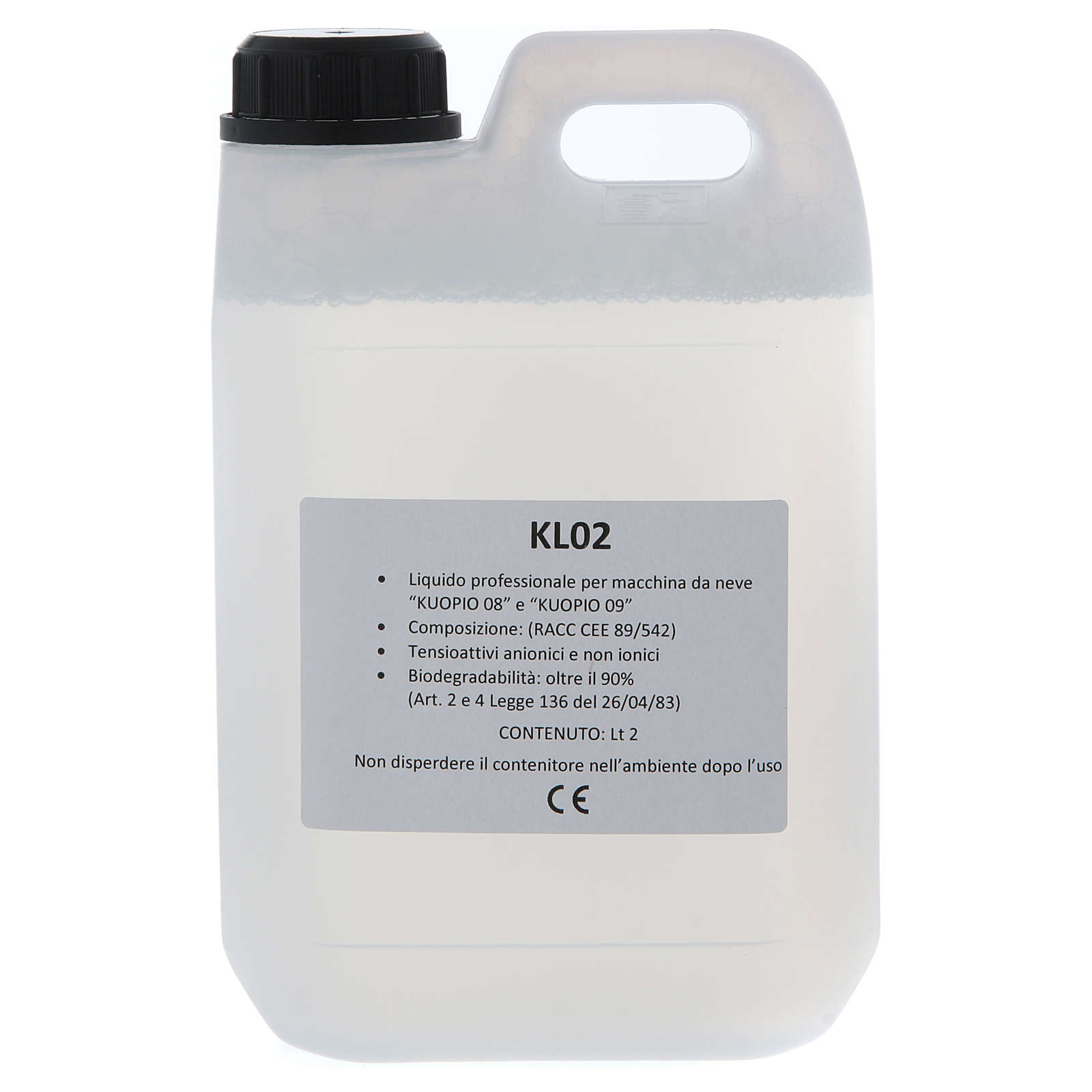 Liquid snow for Kuopio snow machines, 2litres 4