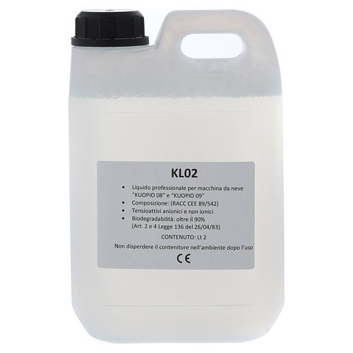 Liquid snow for Kuopio snow machines, 2litres 1
