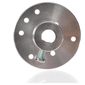Nativity accessory, pulley for gear motor for 7mm spindle ME s4