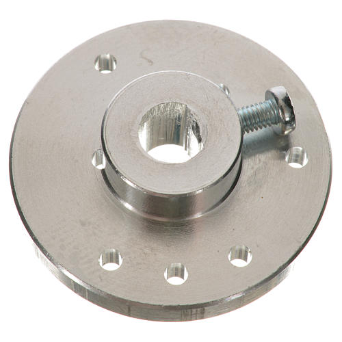 Nativity accessory, pulley for gear motor for 7mm spindle ME 3