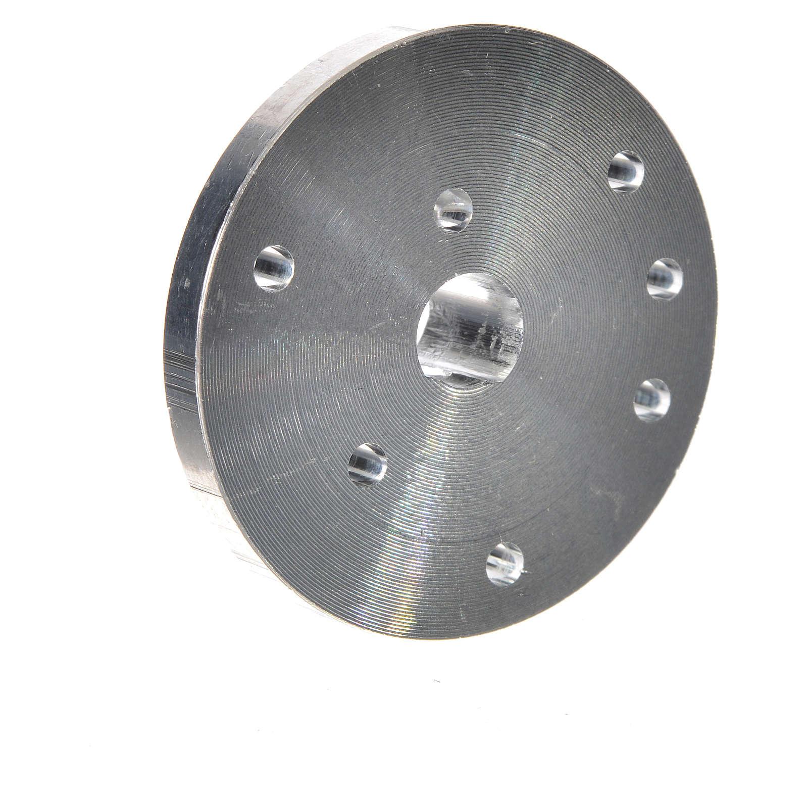 Poulie pour motoréducteur arbre diam. 7 mm ME 4
