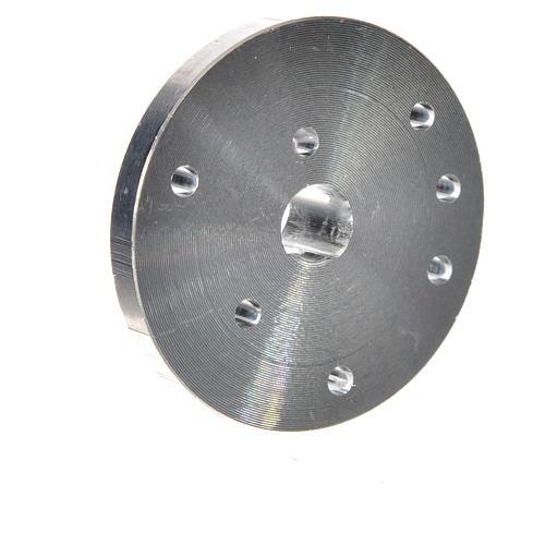 Poulie pour motoréducteur arbre diam. 7 mm ME 2