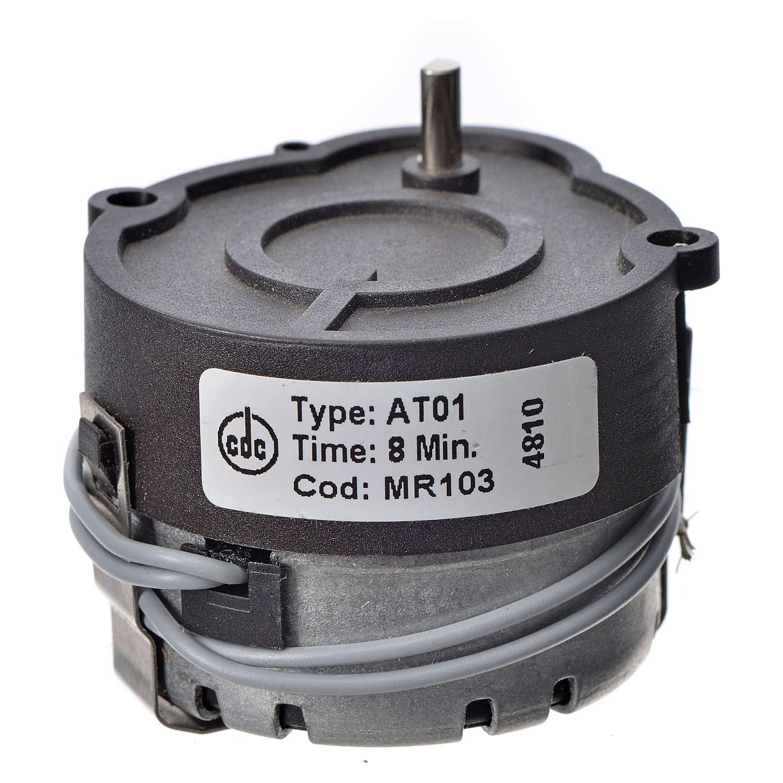 Motoriduttore presepe MR giri/minuto 1/8 4