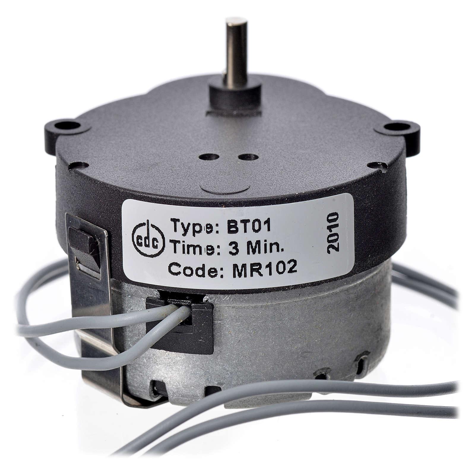Motor movimientos MR 1/3 rpm 4