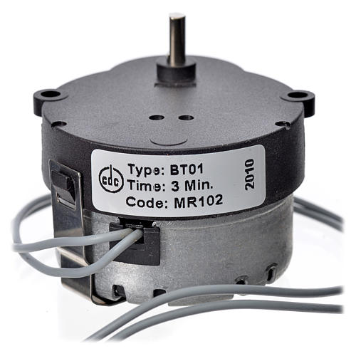 Motor movimientos MR 1/3 rpm 3