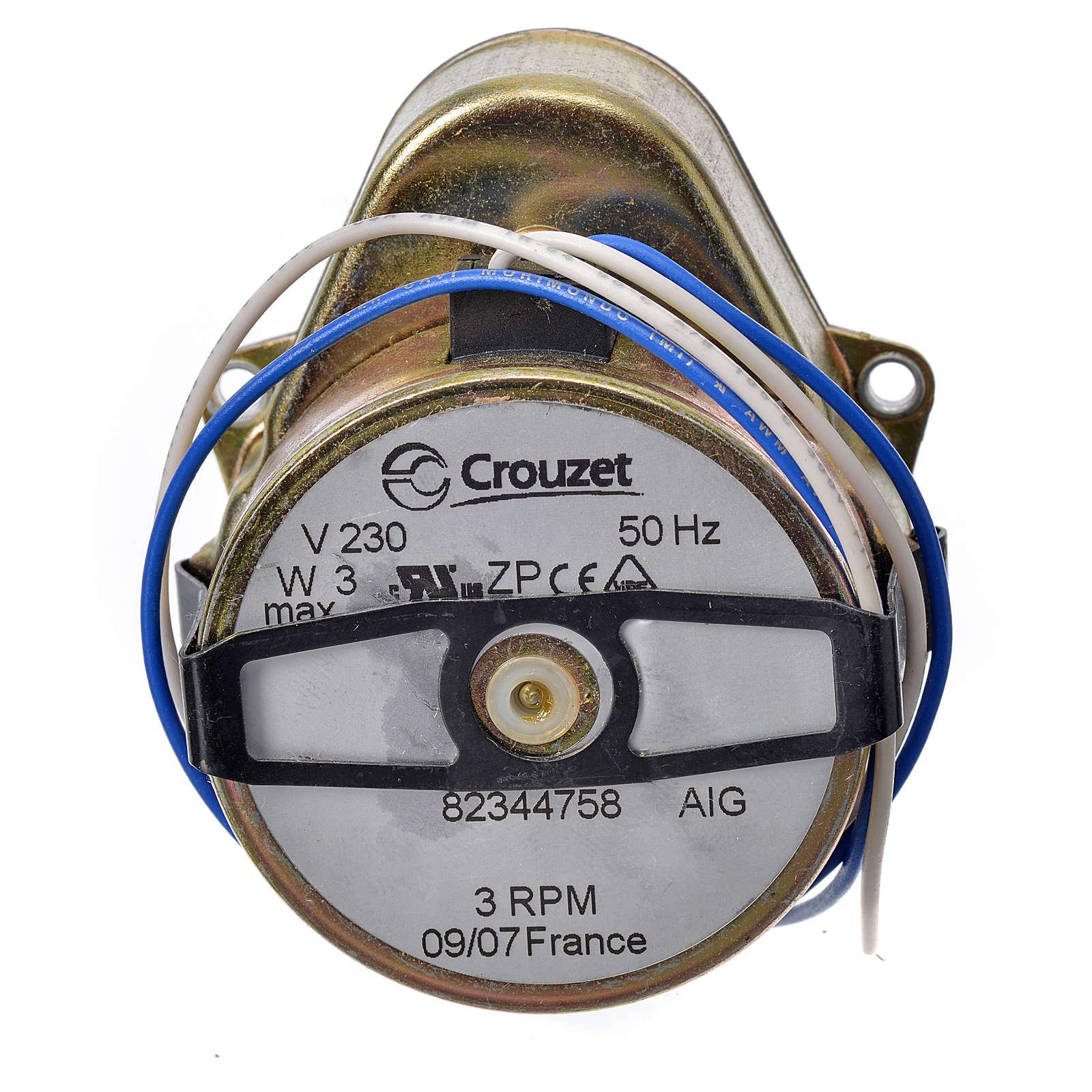 Motoriduttore presepe  MR giri/minuto 3 4