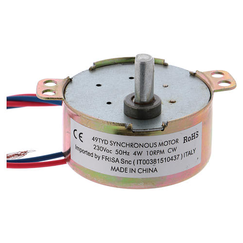 Nativity accessory, ME gear motor, 10 t/m 2