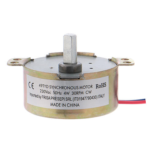 Nativity accessory, ME gear motor, 30 t/m 2