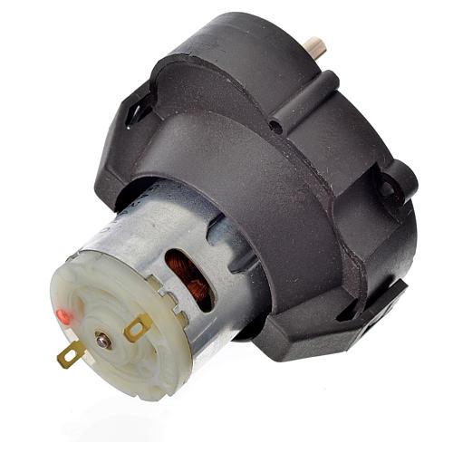 Moto-réducteur pour crèche MCC à courent continu 12V t/min 1- 2