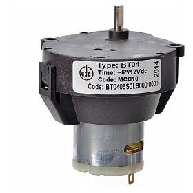 Motoriduttore presepe MCC a corrente continua 12V g/m 10 s3
