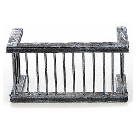 Ringhiera balcone presepe napoletano 11,5x5 h. 6 s1