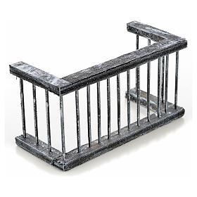 Ringhiera balcone presepe napoletano 11,5x5 h. 6 s2