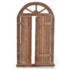 Mini porte crèche Napolitaine 10x17 cm s2