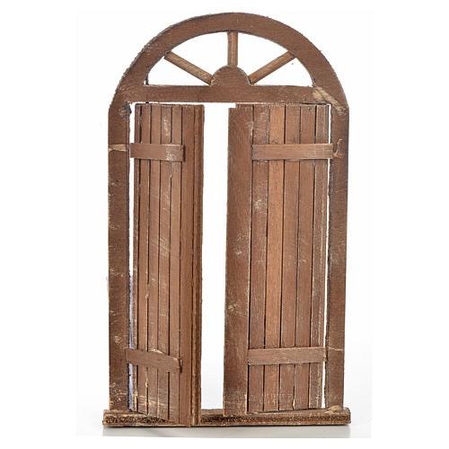 Mini porte crèche Napolitaine 10x17 cm 2