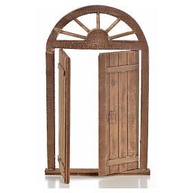 Mini porte crèche Napolitaine 13x21 cm s2