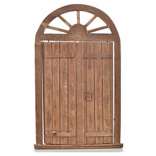 Mini porte crèche Napolitaine 13x21 cm 1
