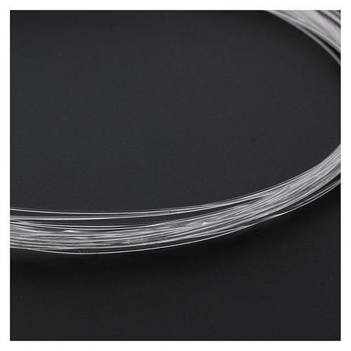 Bobbin of optical fibre for nativity scenes, 10mt; diam 0,50mm 2