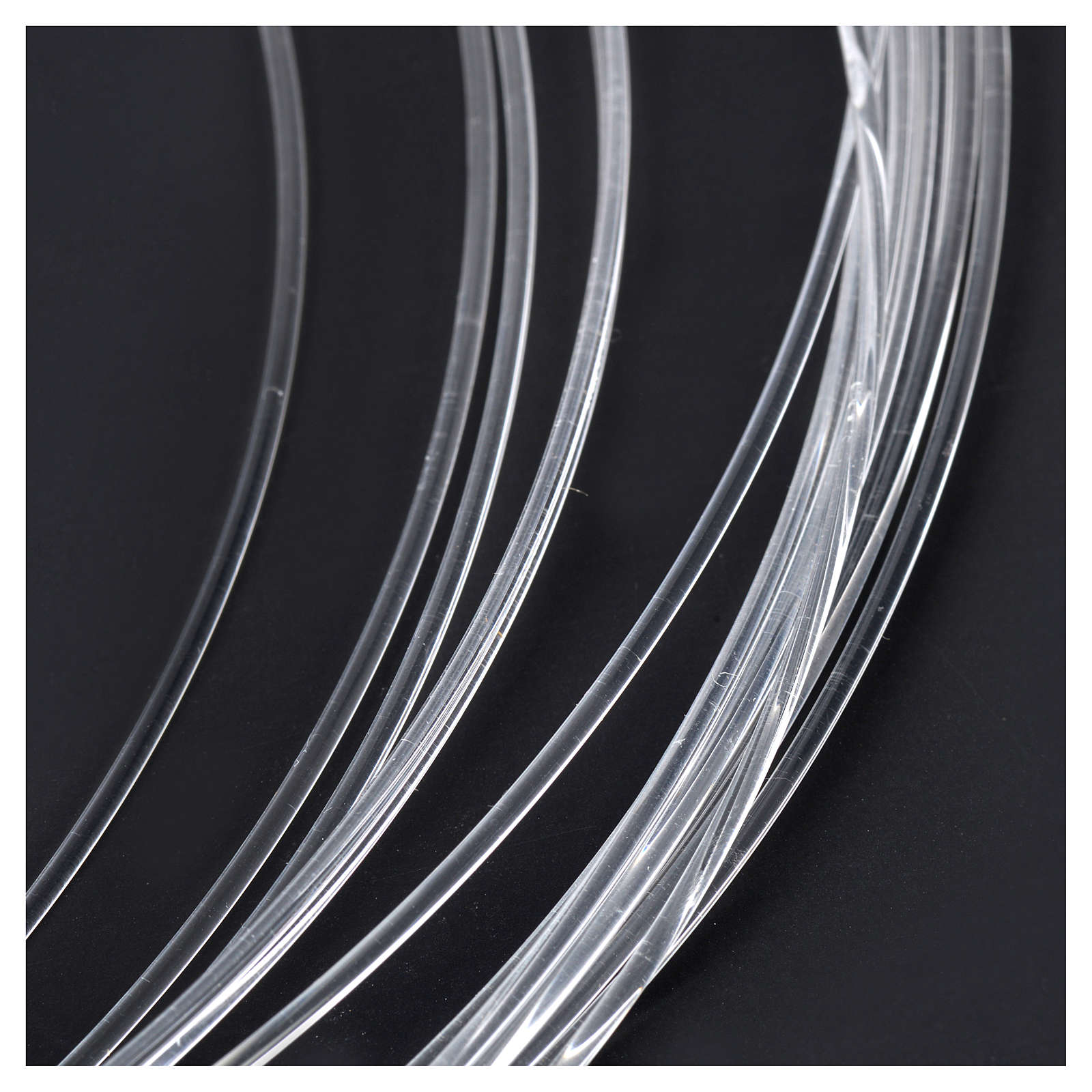 Bobina fibra ottica 10 mt per presepe - diam 0,75 mm 4