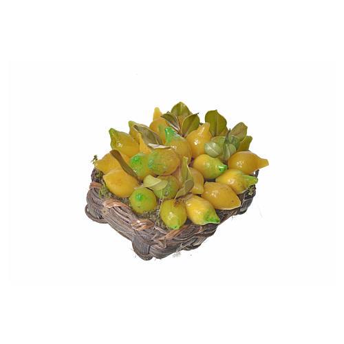 Cesto limoni in cera 4,5x5,5x6 2