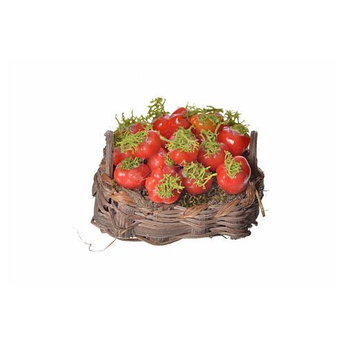 Cesto pomodori in cera 4,5x5,5x6 1