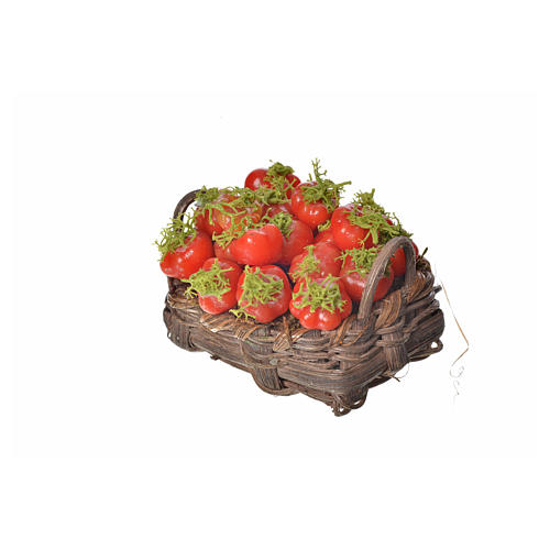 Cesto pomodori in cera 4,5x5,5x6 3