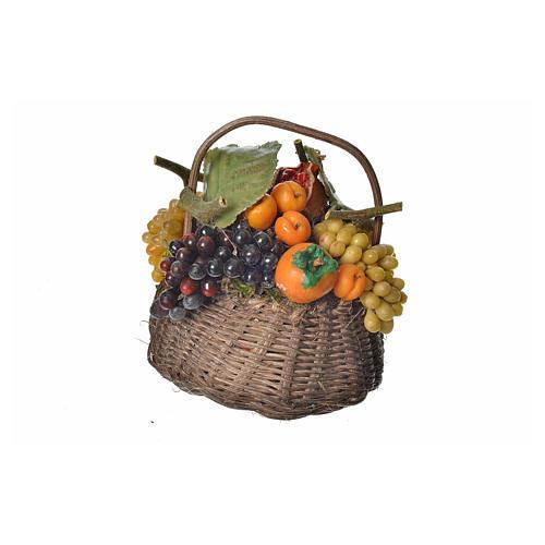 Cesto frutta in cera 10x7x8 cm 1