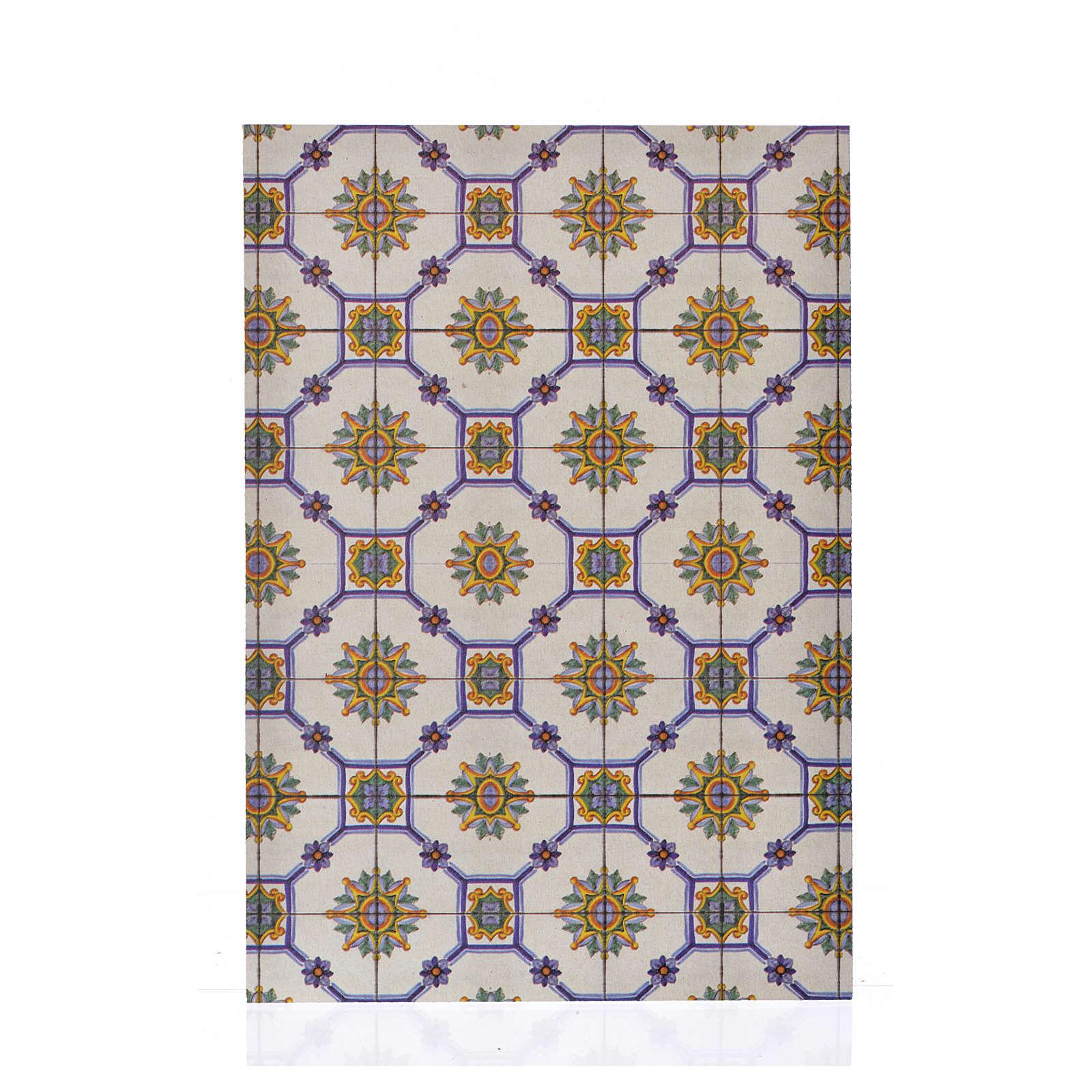 Cartoncino sottile pavimento vetro 24X16,5 4