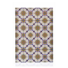 Acessórios de Casa para Presépio: Cartão fino pavimentação vidro 24x16,5 cm