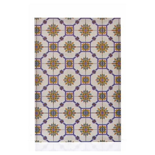 Cartão fino pavimentação vidro 24x16,5 cm 1