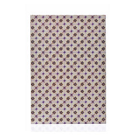 Carton fin sol à losanges 24x16,5 cm s1