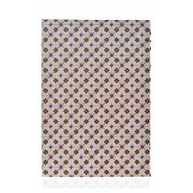 Carton pour revêtement sol losanges 24x16,5 cm, épais s1
