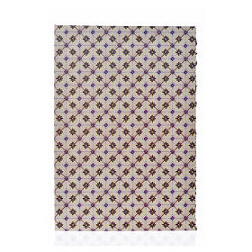 Cartoncino doppio pavimento rombi 24X16,5 cm s1