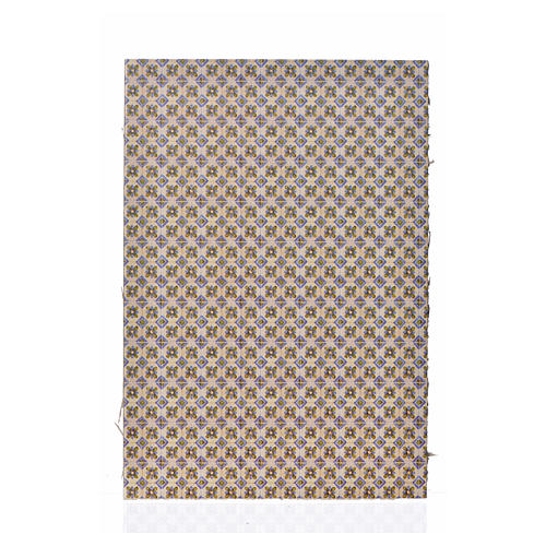 Carton pour revêtement sol fleurs 24x16,5 cm, épais 1