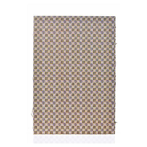 Cartoncino doppio pavimento fiori 24X16,5 cm 1