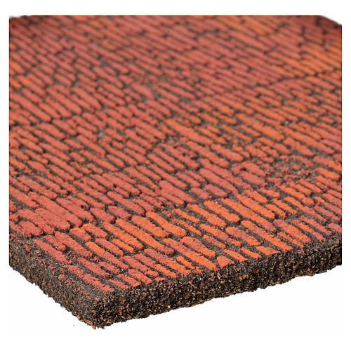 Pannello sughero muro romano 36x23x1 2