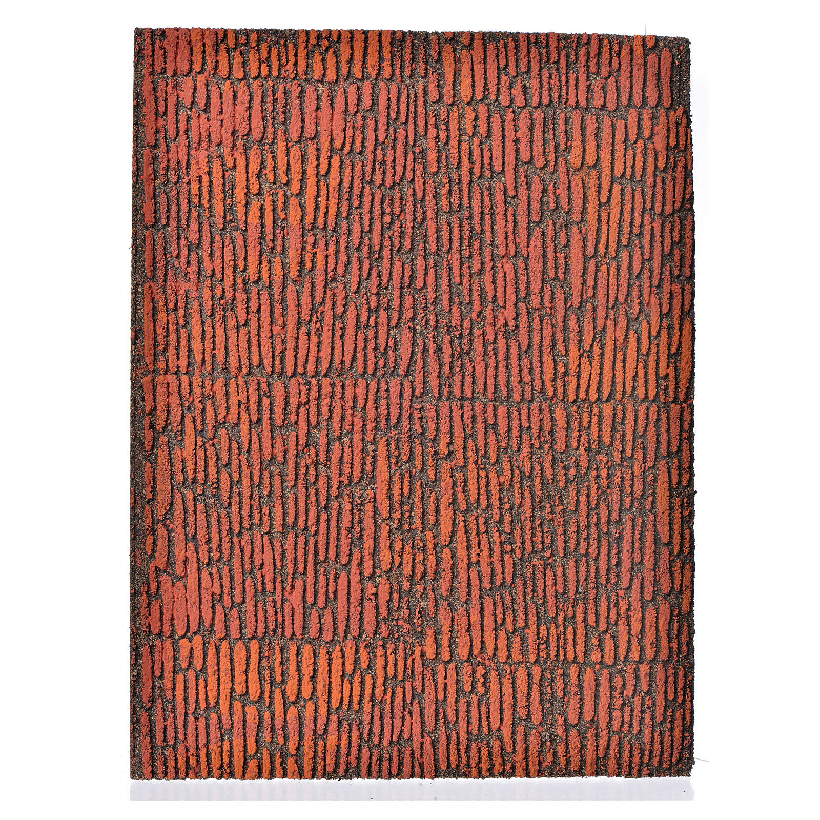 Nativity accessory, cork panel, Roman wall 36x23x1cm 4