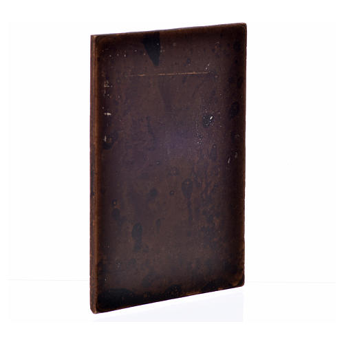 Nativity accessory, plaster door, dark wood colour,10x7cm 2