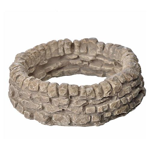Muro ad anello in gesso per presepe 1