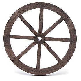 Rueda belén madera 10 cm. s2