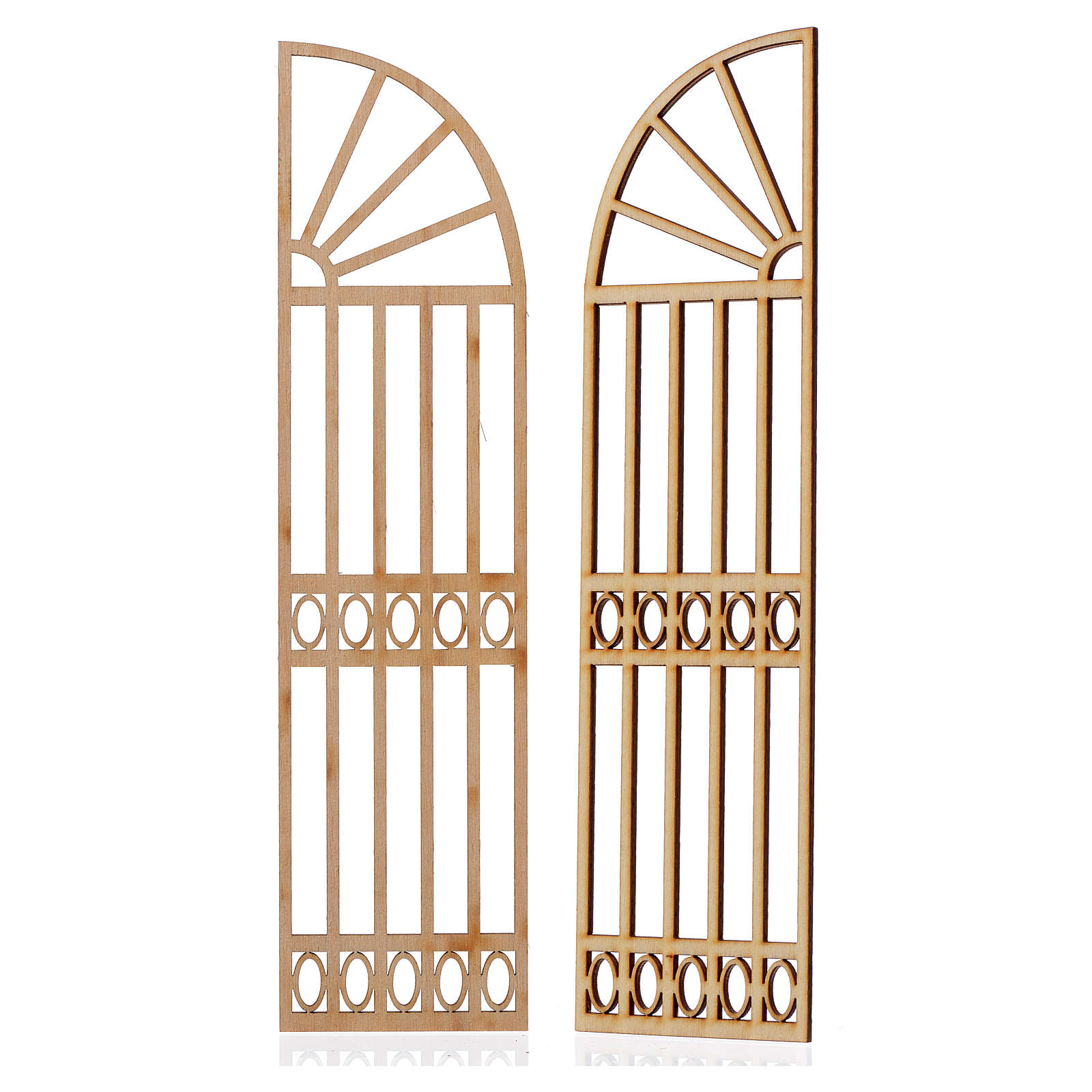 Portón belén madera 2 piezas 22x11 4