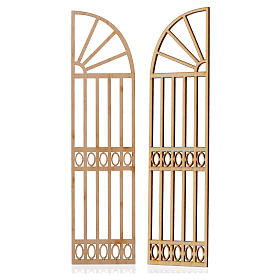 Cancello presepe legno 2 pz 22x11 s2