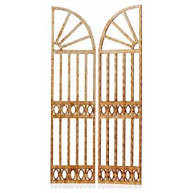 Cancello presepe 2 pz 26,5x13 s2