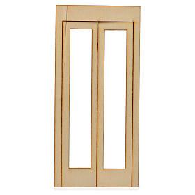 Caixilho presépio madeira 19x9 cm s1