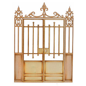 Barandillas, puertas, balcones: Verja belén 2 puertas 14,5x11
