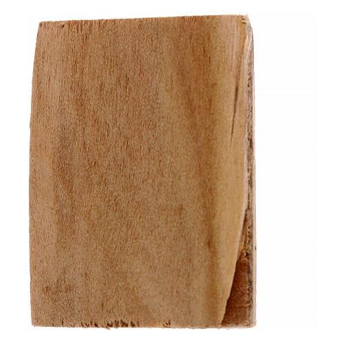 Cuadro madera belén 2 piezas 4x3.5 2