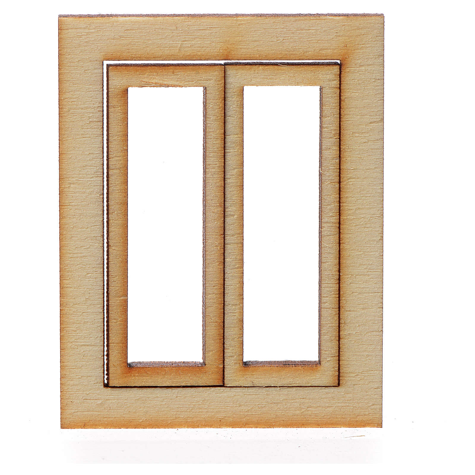 Infisso legno presepe 4,5x3,5 4